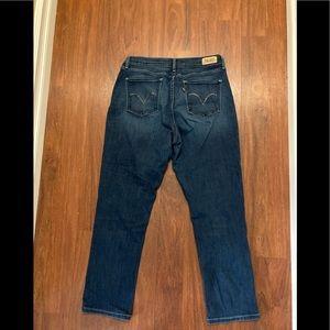 Levi's perfectly slimming skinny leg jeans 31 x 32